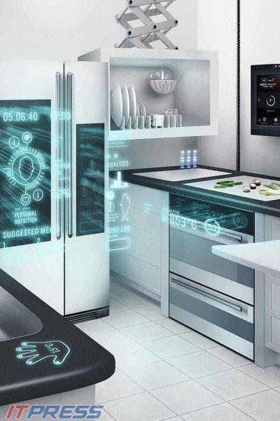 لمس آینده در آشپزخانه های هوشمند  ؟!